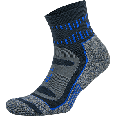 Balega Blister Resist Quarter Crew Socks - Small / Ink/Cobalt