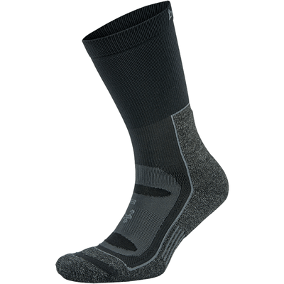 Balega Blister Resist Crew Socks Small / Gray/Black