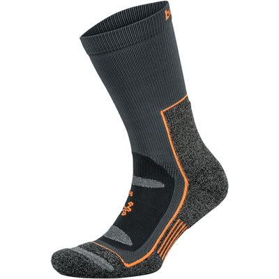 Balega Blister Resist Crew Socks Medium / Gray/Orange