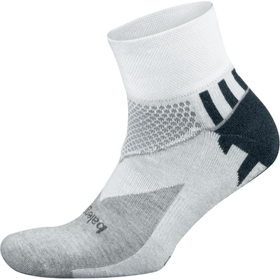 Balega Enduro Quarter Socks Small / White/Midgray