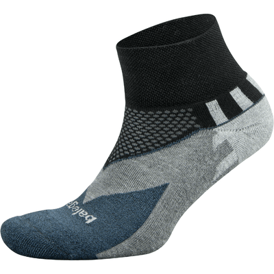 Balega Enduro Quarter Socks Small / Black/Charcoal