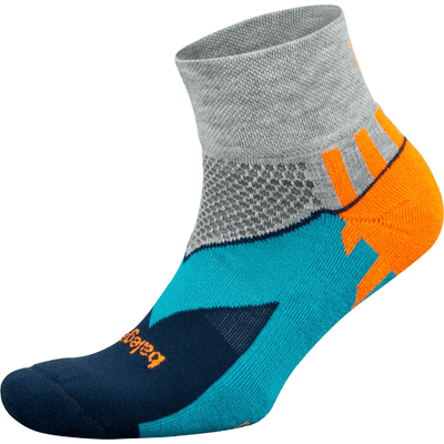 Balega Enduro Quarter Socks Small / Midgray/Ink