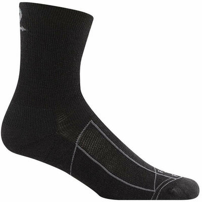 Farm to Feet Greensboro Lightweight 3/4 Crew Socks - Medium / Black