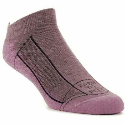 Farm to Feet Greensboro Lightweight Low Socks - Small / Lavendula