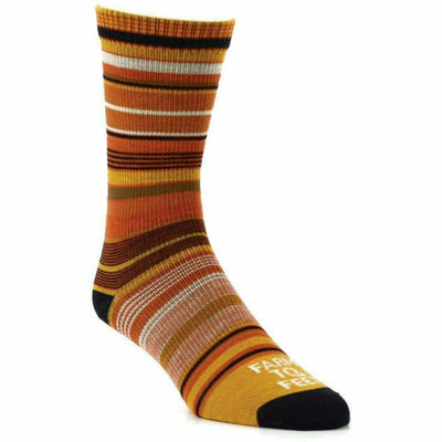 Farm to Feet Womens Ithaca Ultralight Crew Socks - Small / Total Eclipse