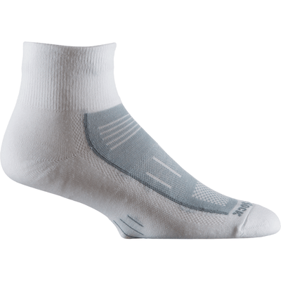Wrightsock Endurance Quarter Socks - Small / White