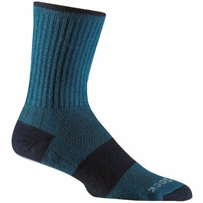 Wrightsock Escape Midweight Crew Socks - Small / Azure