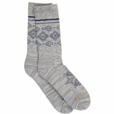 Pendleton Heritage Crew Socks Medium / Grey