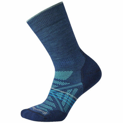 Smartwool Womens PhD Outdoor Light Crew Socks Small / Alpine Blue