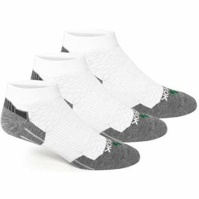 Fitsok CX3 CoolMax Low Cut Socks - Small / White/Gray