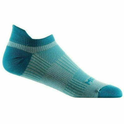 Wrightsock Double-Layer Coolmesh II Lightweight Tab Socks Small / SeaMist/Turquoise / Single Pair