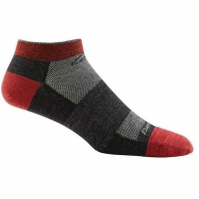 Darn Tough No Show Light Mens Socks Medium / Team DTV