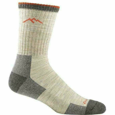 Darn Tough Hiker Micro Crew Cushion Mens Socks Medium / Oatmeal