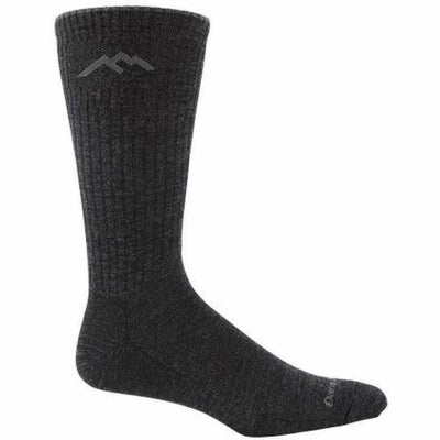 Darn Tough Standard Issue Mid-Calf Light Mens Socks - Medium / Charcoal