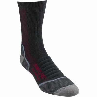 Farm to Feet Womens Damascus Lightweight Elite Hiker 3/4 Crew Socks - Small / Dark Shadow