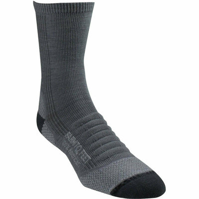 Farm to Feet Womens Damascus Lightweight Elite Hiker 3/4 Crew Socks - Small / Charcoal