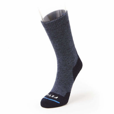 FITS Medium Hiker Crew Socks Small / Navy