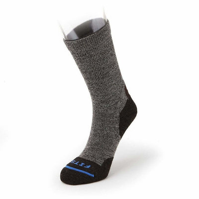 FITS Light Hiker Crew Socks Small / Brown