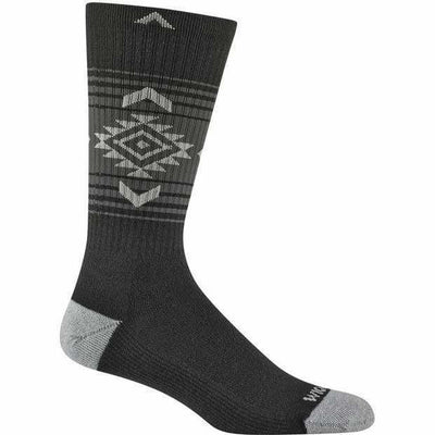 Wigwam Jewels Route NXT Crew Socks - Small/Medium / Black