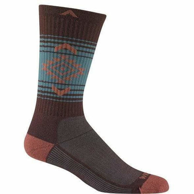 Wigwam Jewels Route NXT Crew Socks - Small/Medium / Catawba Grape