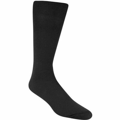 Wigwam Dry Foot Liner Crew Socks - One Size Fits Most / Black