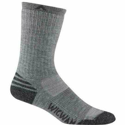 Wigwam Merino Lite Crew Womens Socks - Small/Medium / Grey