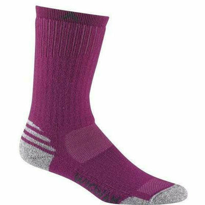 Wigwam Merino Lite Crew Womens Socks - Small/Medium / Hot Magenta