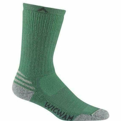 Wigwam Merino Lite Crew Womens Socks - Small/Medium / Rippled Forest