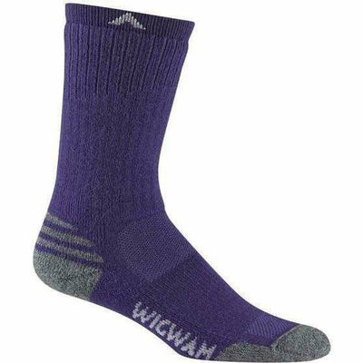 Wigwam Merino Lite Crew Womens Socks - Small/Medium / Spectrum Blue