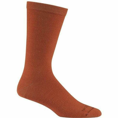 Wigwam Artio Crew Socks Medium / Red Clay