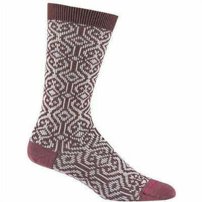 Wigwam Nadyn Crew Socks Medium / Pink