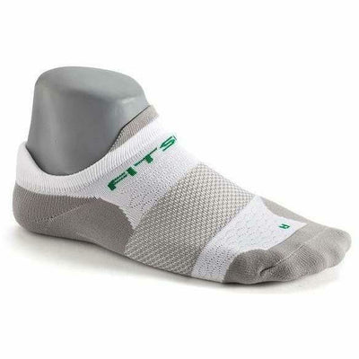 Fitsok F4 No Show Socks Small / White