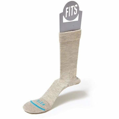 FITS Casual Crew Socks - Small / Stone