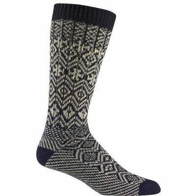 Wigwam Rorvik Crew Socks - Medium / Navy