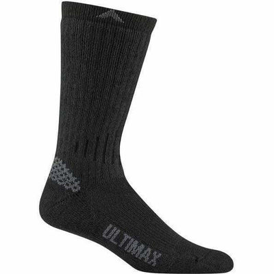 Wigwam Rove Outdoor Mens Crew Socks Medium / Black