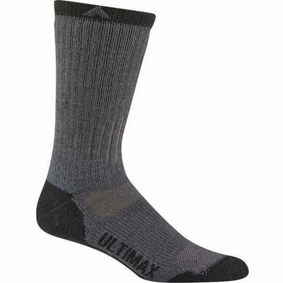 Wigwam Rove Outdoor Mens Crew Socks Medium / Grey