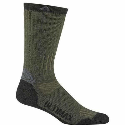 Wigwam Rove Outdoor Mens Crew Socks Medium / Olive