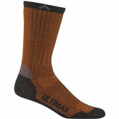 Wigwam Rove Outdoor Mens Crew Socks Medium / Orange