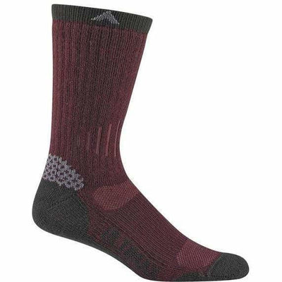 Wigwam Rove Outdoor Mens Crew Socks Medium / Port