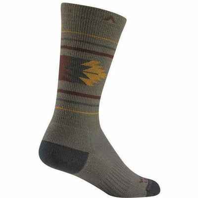 Wigwam Bears Ears Crew Socks - Small / Iron