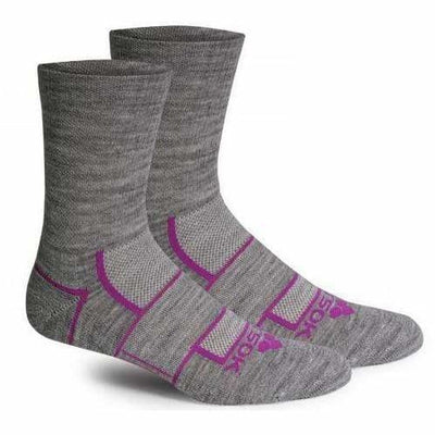 Fitsok ISW Isowool Crew Socks Small / Heather Gray