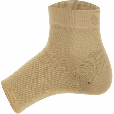 OS1st Plantar Fasciitis Performance Foot Sleeves - Small / Natural / Pair