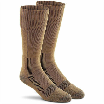 Fox River Military Wick Dry Maximum Boot Socks Medium / Brown