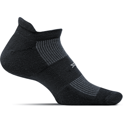 Feetures High Performance Ultra Light No Show Tab Socks Small / Black