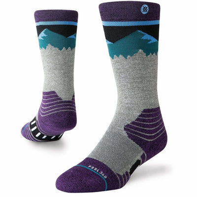 Stance Ridge Line Youth Socks - Large / Blue