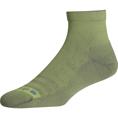 Drymax Lite Hiking 1/4 Crew Socks - Small / Sublime/Anthracite