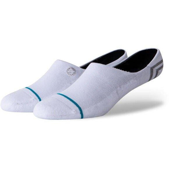 Mens 1 Pair Stance Gamut Combed Cotton Invisible Socks