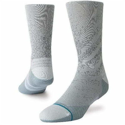 Stance Mens Uncommon Run Crew Socks - Medium / Grey
