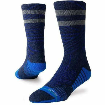 Stance Mens Uncommon Train Crew Socks - X-Large / Royal