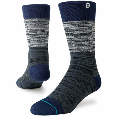 Stance Mens Adventure Perrine Outdoor Socks Medium / Navy